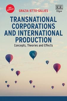 Cover of Transnational Corporations and International Production Concepts, Theories and Effects